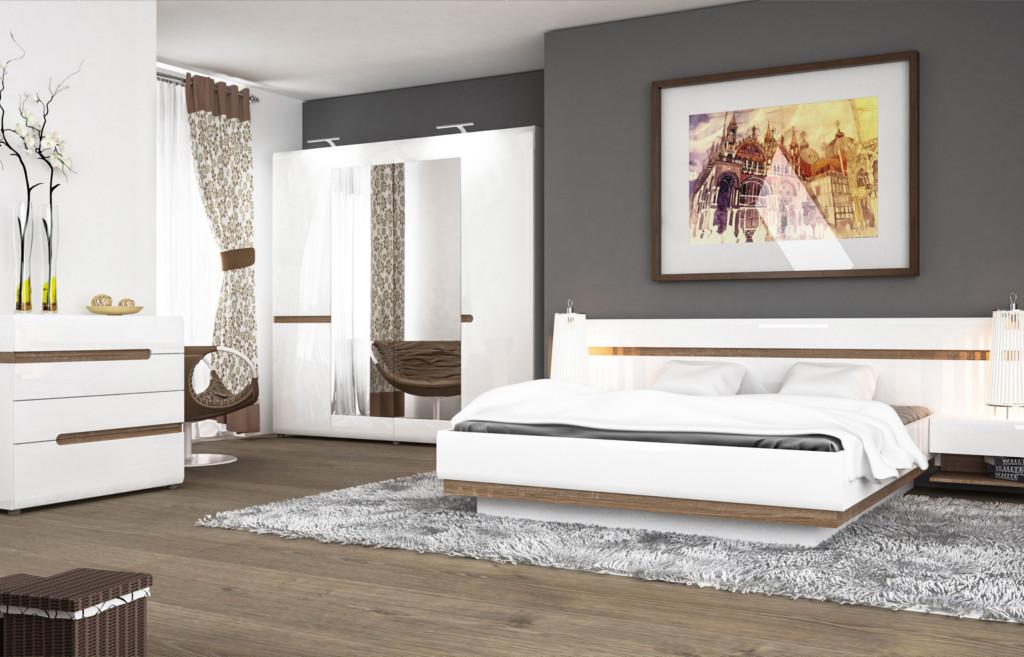 Sypialnia Linate - Meble Wójcik